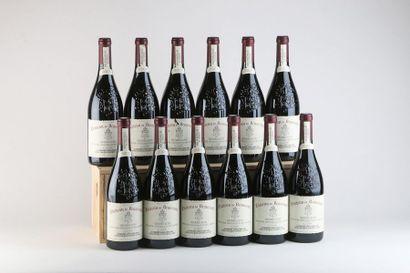 12 B CHATEAUNEUF DU PAPE Rouge - 2001 - Château...