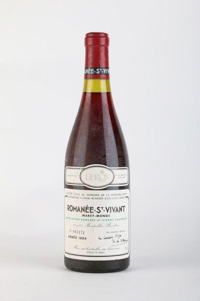 1 B ROMANÉE SAINT-VIVANT (Grand Cru) 1,6...