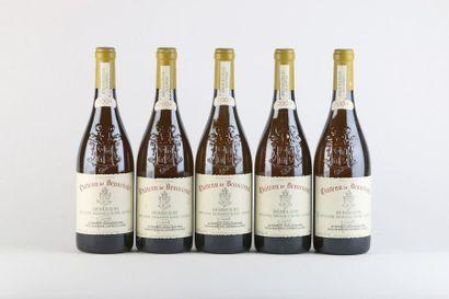 5 B CHATEAUNEUF DU PAPE Blanc - 2004 - Château...
