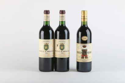 2 B BANDOL Rouge (1 e.a.) - 1998 - Château...