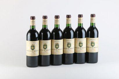 6 B BANDOL Rouge (2 e.l.s.) - 1999 - Château...