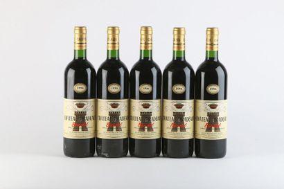 5 B BANDOL Rouge - 1996 - Château Pradea...