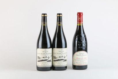 2 B VIN DE PAYS DE L'HÉRAULT Rouge (e.l.s.)...