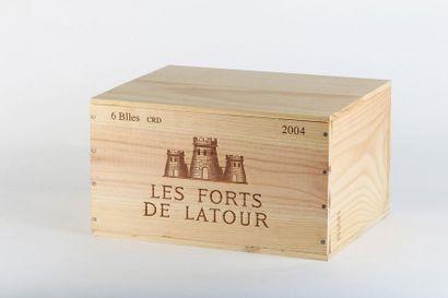 6 B LES FORTS DE LATOUR (Caisse Bois d'origine)...