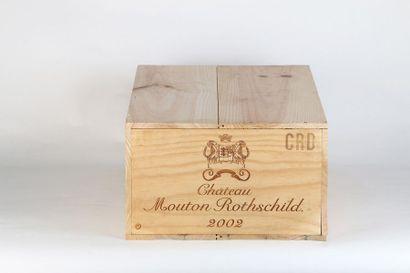 12 B CHÂTEAU MOUTON ROTHSCHILD (Caisse Bois...