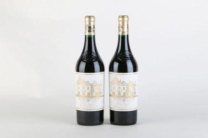 2 B CHÂTEAU HAUT BRION (quelques marques étiquettes) - 1997 - GCC1 Graves