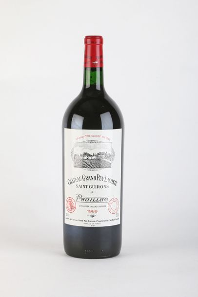 1 Mag CHÂTEAU GRAND PUY LACOSTE - 1989 -...