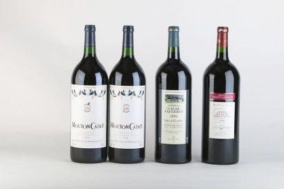 2 Mag MOUTON CADET - 1996 - Bordeaux  1 Mag...