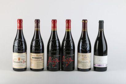 1 B CHATEAUNEUF DU PAPE Rouge - 2003 - Louis...