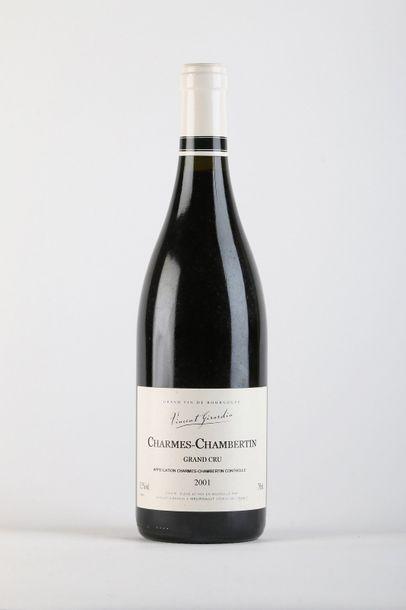 1 B CHARMES-CHAMBERTIN (Grand Cru) - 2001 - Vincent Girardin