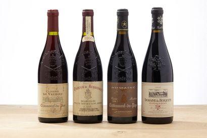 1 B CHATEAUNEUF DU PAPE Rouge (e.a.) - 1995...