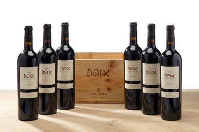 6 B PRIORAT DOIX (Caisse Bois d'origine) e.t.h. légères - 2006 - Mas Doix