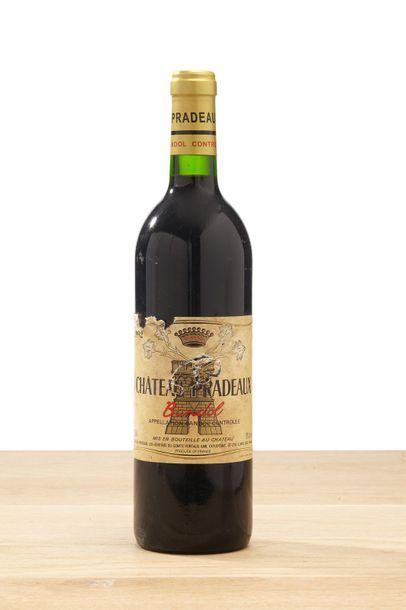 1 B BANDOL Rouge (e.t.a.) - 1992 - Château Pradeaux  1 B RASTEAU - 2006 - Domaine...