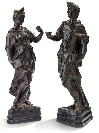 ATTRIBUÉS À GIROLAMO CAMPAGNA (VERONA, CA 1549 - VENEZIA, 1625)