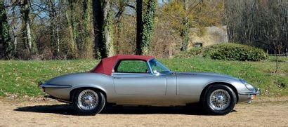 1974 Jaguar Type E série 3 V12 ROADSTER