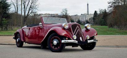 1938 Citroën CABRIOLET TRACTION