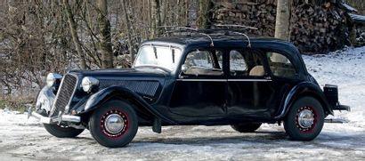 1939 Citroën 15 SIX G Familiale
