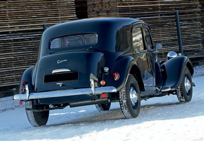 1955 Citroën BIG SIX Seulement 77 Six H produites à Slough (7 en 1954, 70 en 1955)...