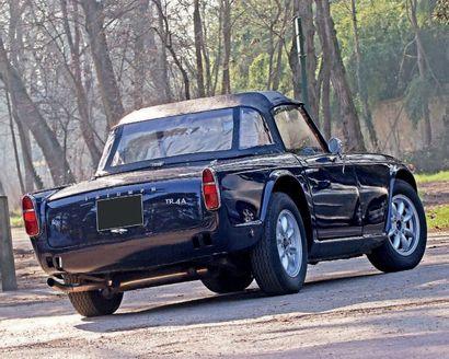 1967 Triumph TR4 A Carrosserie et mécanique restaurée en 2018 Fiable et facile à...