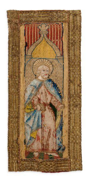 ORFROIS, XVIE SIÈCLE Représentant un Saint...