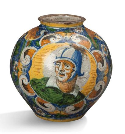 ATELIER DE MAESTRO DOMENICO, VERS 1580 Vase...