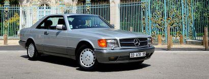 Mercedes 500 SEC 1990