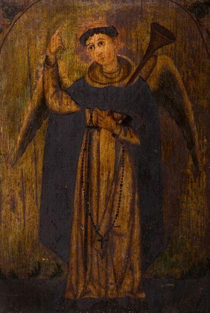 ÉCOLE d'AMÉRIQUE du SUD du XVIIIe siècle