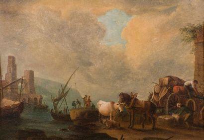 ÉCOLE FRANÇAISE de la fin du XVIIIe siècle, suiveur de Jean-Baptiste LALLEMAND