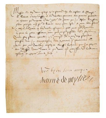 DIANE DE POITIERS, duchesse de Valentinois (1499-1566)