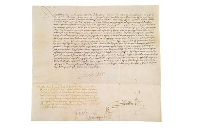 FRANÇOIS II (1544-1560) et CHARLES IX (1550-1574)