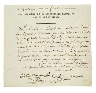 ROBESPIERRE MAXIMILIEN DE (1758-1794)