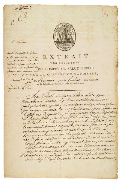 SAINT-JUST Louis-Antoine (1767-1794)