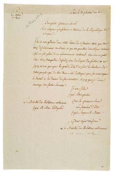 TALLEYRAND Charles Maurice de (1754-1838)