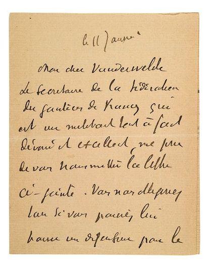 JAURÈS Jean (1859-1914)