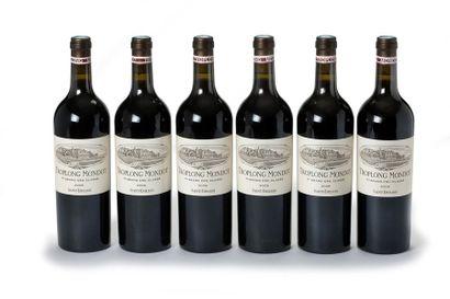 6 blles Château Troplong Mondot - 2008 -...