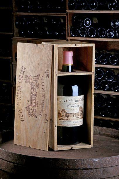 1 Double Mag Vieux Château Certan - 2011...