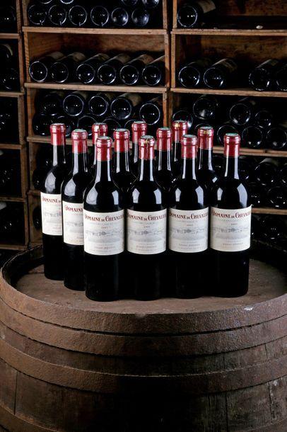 12 Blles Domaine de Chevalier - 2005 - Pessac-Léognan...
