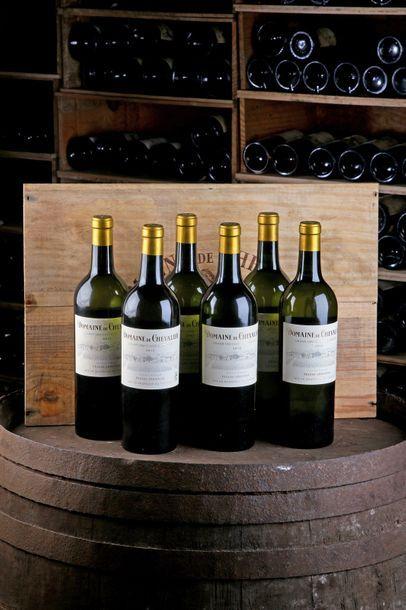 6 Blles Domaine de Chevalier Blanc - 2012...