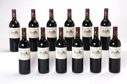 12 blles Château Cassagne Haut-Canon - 2003...