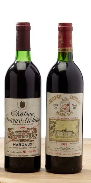 [MIX] Lot 6 bouteilles Bordeaux rouges:  -...