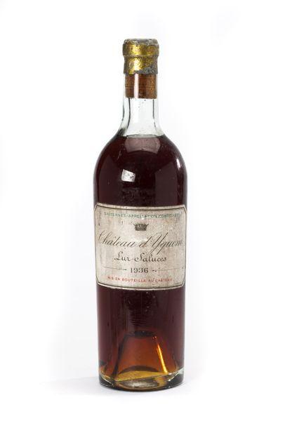 1 blle Château d'Yquem - 1936 - 1er GCC Sauternes...