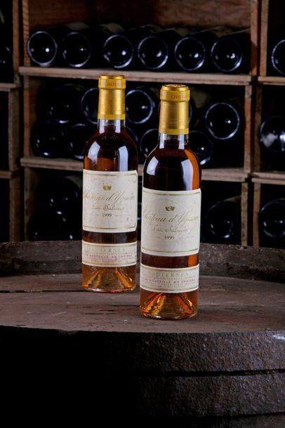 2 demi bouteilles Château d'Yquem - 1999...