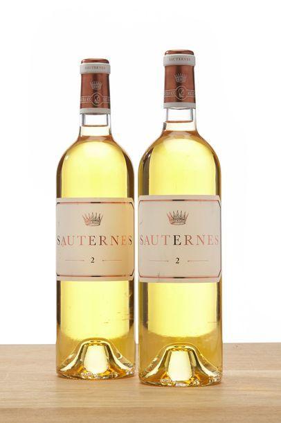 2 blles Sauternes