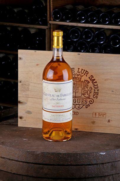 1 Mag Château de Fargues - 2003 - Sauternes...