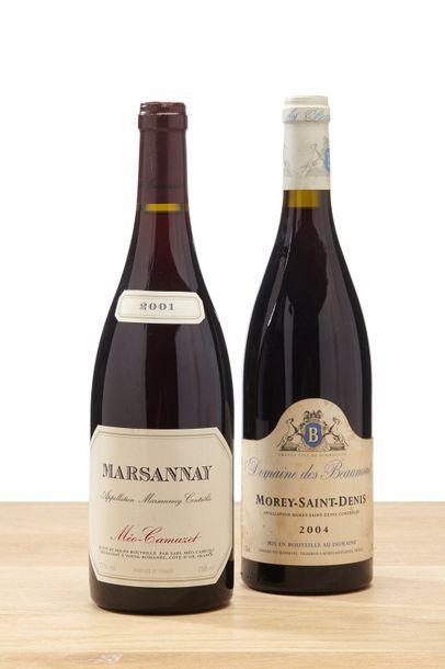 [MIX] LOT 2 blles Bourgogne rouges:    -...