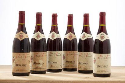 6 blles Mercurey - 2000 - Domaine Albert...