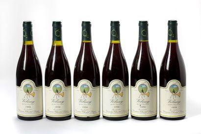 6 blles Volnay - 1998 - Domaine Chantal ...