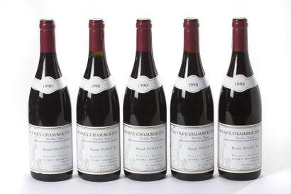 5 blles Gevrey-Chambertin Vieilles Vignes...