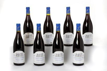 8 blles Pommard - 2000 - Domaine Carré-C...