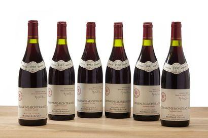6 blles Chassagne-Montrachet - 1992 - Mo...